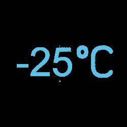 Минус 25ºС