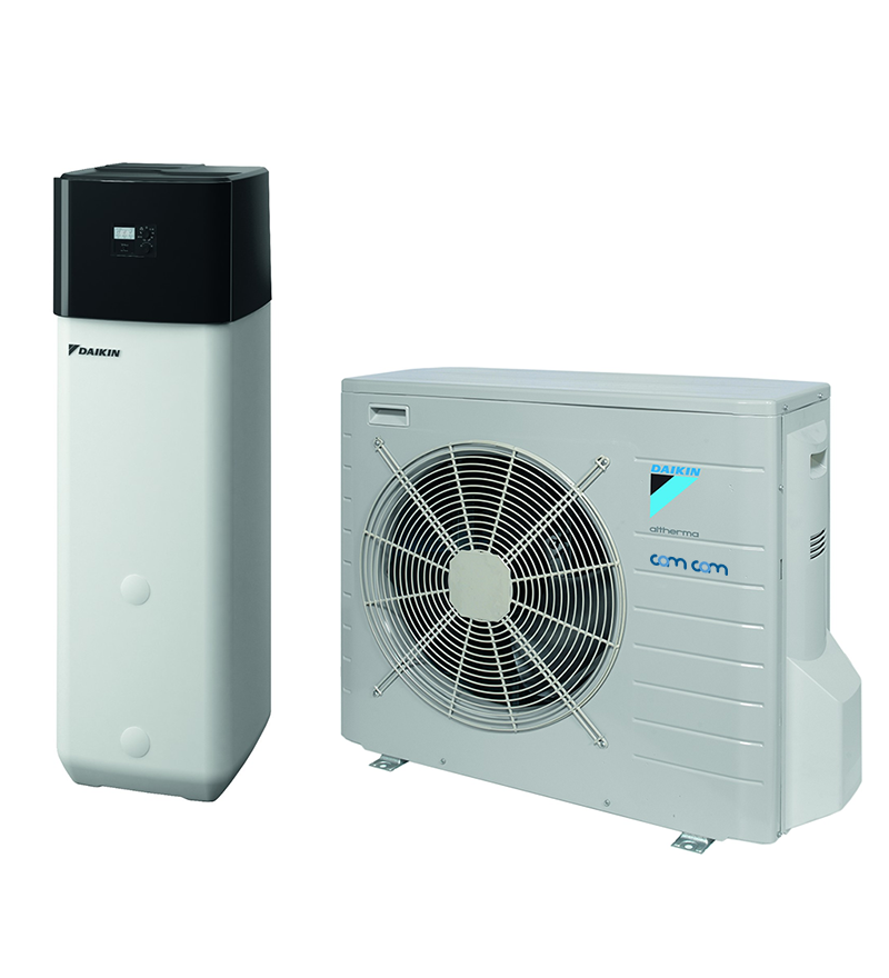 Daikin EHSXB08P30B/ERLQ008CV3 – система Altherma для обогрева и горячего водоснабжения