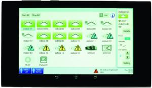 Daikin Z380M – беспроводной планшет для удаленного контроля за климатическими системами