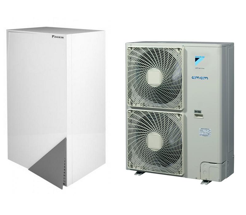 Daikin EHBH11CB3V/ERHQ011BW1  – настенная низкотемпературная сплит-система на базе теплового насоса воздух-вода