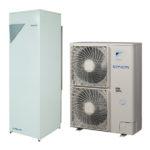 Daikin EHVH11SU26CB6W/ERLQ011CV3 – напольная встроенная низкотемпературная сплит-система Daikin Altherma на базе теплового насоса воздух-вода