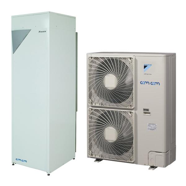 Daikin EHVH11SU26CB6W/ERLQ011CW1 – напольная встроенная низкотемпературная сплит-система Daikin Altherma на базе теплового насоса воздух-вода