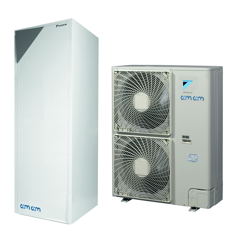 Daikin EHVH16S26CB9W/ERHQ014BW1 – низкотемпературная сплит-система для снабжения горячей водой и отопления