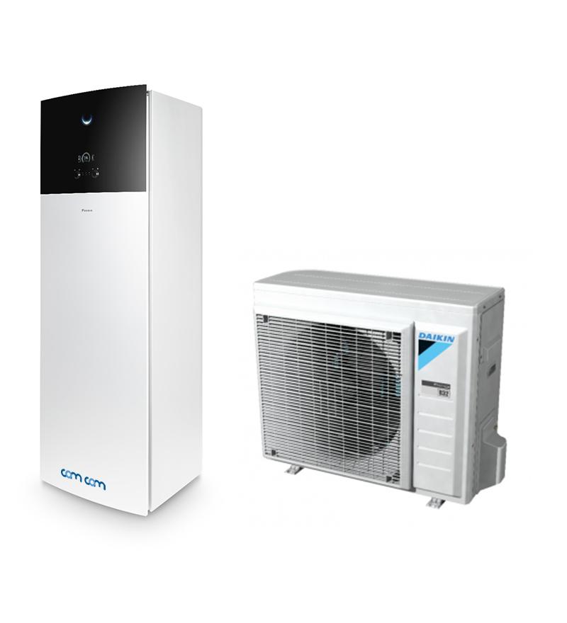 Daikin EHVX08S18D9W/ERGA08DV – система Altherma для обогрева, горячего водоснабжения и охлаждения