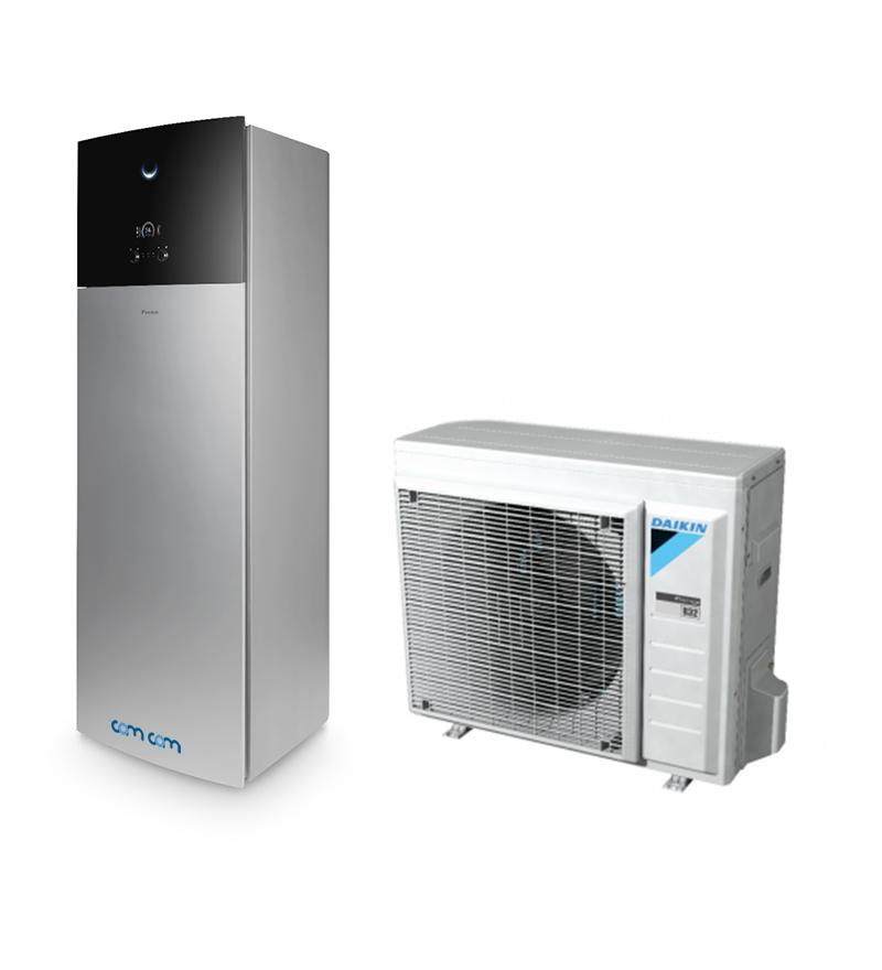 Daikin EHVX08S23D9WG/ERGA08DV – система Altherma для обогрева, горячего водоснабжения и охлаждения