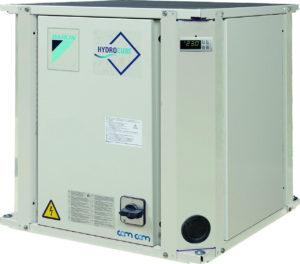Daikin EWWQ025KBW1N – Чиллер с водяным охлаждением конденсатора