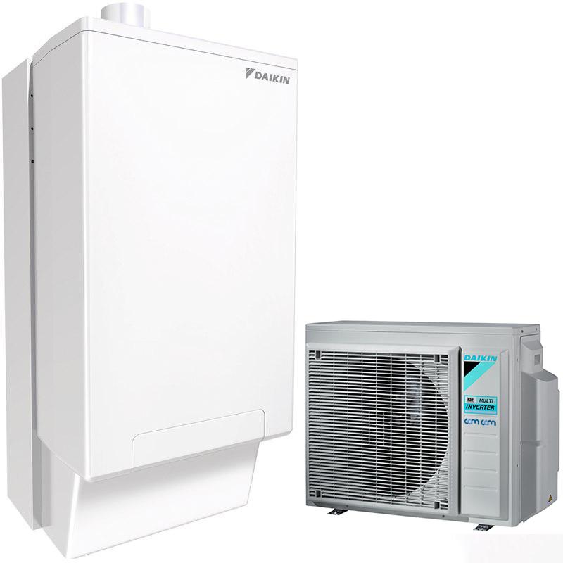 Daikin 4MXM68N/CHYHBH05AV32/EHYKOMB33AA2 – гибридный тепловой насос для отопления и ГВС