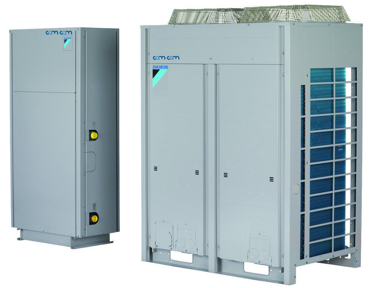 Daikin SEHVX40BW/SERHQ020BW1+SERHQ020BW1  – инверторная холодильная машина с воздушным охлаждением конденсатора, спиральным компрессором и тепловым насосом