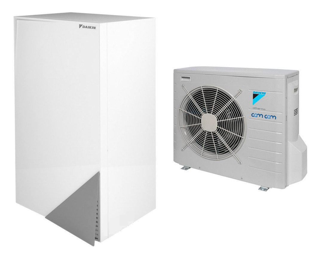 Daikin EHBH04CBV/ERLQ004CV3 – настенная низкотемпературная сплит-система на базе теплового насоса воздух-вода